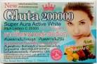 12 unidades/144 Cápsulas l-glutathione 200000 MG omega 3