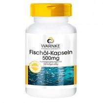 Aceite de pescado – rico en omega-3 – 500mg – Warnke – 100 cápsulas