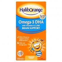 Haliborange 200ml Naranja Omega-3 Sirope