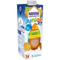 Nestlé Junior Crecimiento 2+ Galleta María – Leche para niños a partir de 2 años