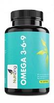 NutriZing complejo de Aceite de Pescado con Omega 3 6 9