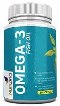 NutriZing Suplemento de Omega-3~2000mg ácidos grasos