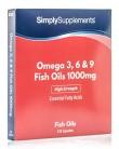 Omega 3-6-9 1000mg – 120 cápsulas – Hasta 4 meses de suministro