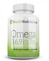 Omega 3.6.9 mezcla de aceites vegetales y de pescado con vitamina E