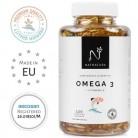 Omega 3+Vitamina E. Alta dosis de ácidos grasos Omega 3, 2000mg.