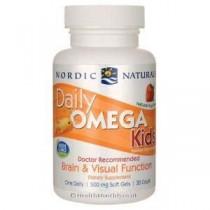 Omega diarias de los niños, el sabor de frutas naturales, 500 mg – Nordic Naturals