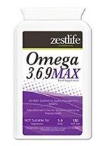 Omega 3,6,9 1000mg – 120 Cápsulas ácidos grasos EPA y DHA